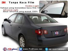 Contoh Mobil Tanpa Kaca Film
