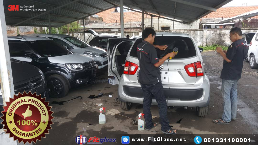 Pelanggan Kaca Film 3M Fitgloss Surabaya