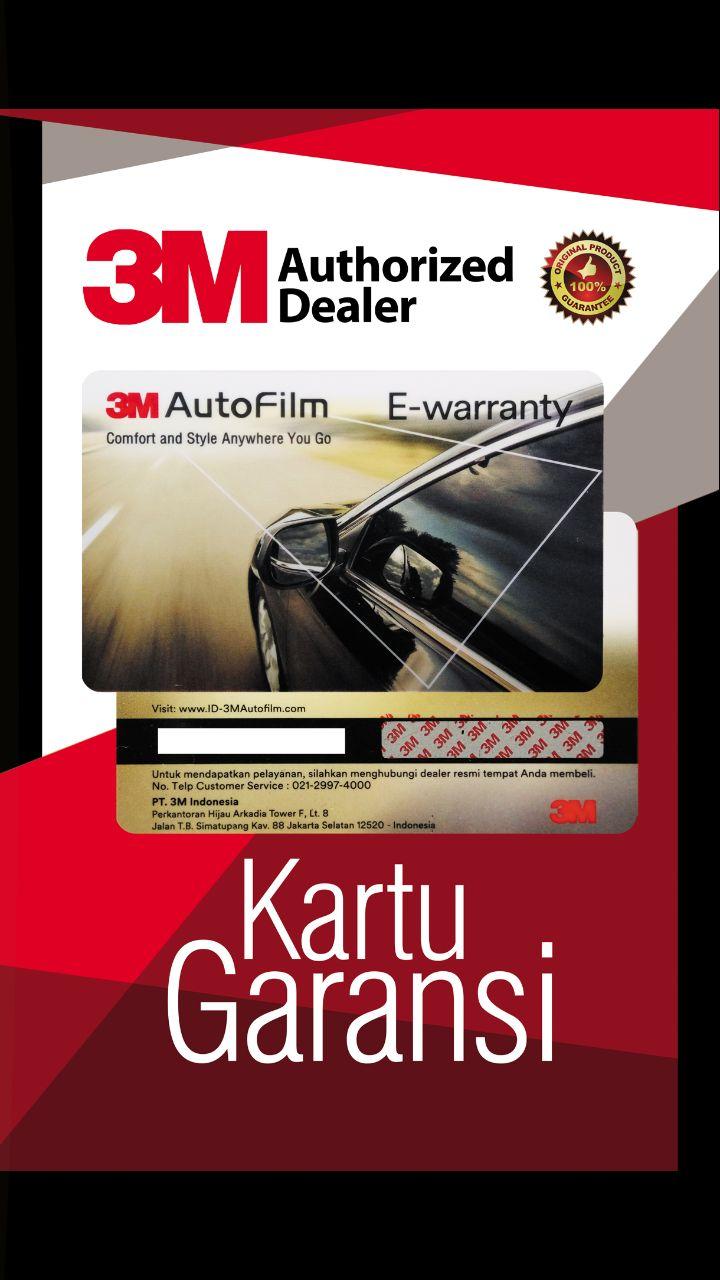 Contoh Kartu Garansi Resmi 3M Indonesia