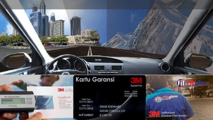 Langkah Jitu Memilih Kaca Film Asli - Tips Memilih Kaca Film Mobil Original